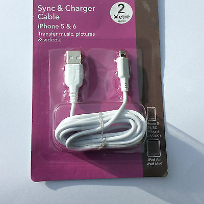 Sync and Charger Cable iPone 5 & 6/+ All Android Phones Tablets Ipads D/cameras