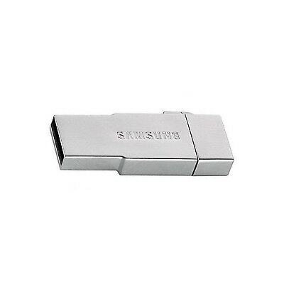 Samsung 64GBEVO Micro SDHC Memory Card With Metal OTG USB Card Reader in Silver