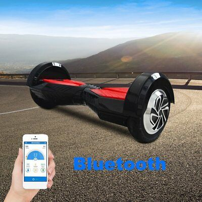 E-Balance Scooter Bluetooth Noir intelligent hoverboard scooter électrique SY
