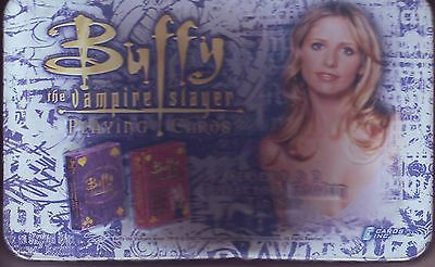 Buffy  The Vampire Slayer Playing Cards Series 1 & 2  And Collectors Edition Tin