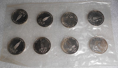 Russian 8x1 Rouble 1977 / Olympic rings / Prooflike / Original plastic package