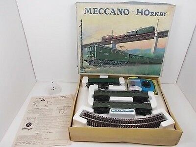 French Hornby acHO Electric Passenger Train Set L'european (Boxed)