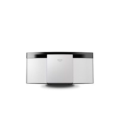 Panasonic Schc195Egw Hifi Compatto 20W Mp3 Usb Bianco