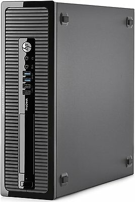 HP Prodesk 600 G1 SFF PC core i5 4590 @ 3.30GHz 4GB 500GB WIN 10 PRO 64 BIT