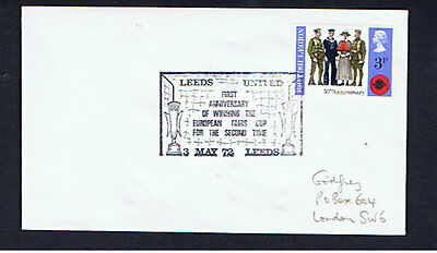 Leeds United Fairs Cup Cover
