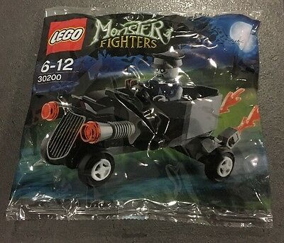 Lego 30200 Monster Fighters Zombie Chauffeur Coffin Car Brand New Sealed Polybag