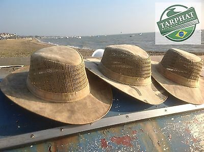 Tarp Hat Vented Type  from Brazil 6 Great sizes-Grab a Bargain-Slight seconds