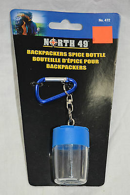 North 49 Backpackers spice bottle # 472, 4 individual compartments ( #bte9 )