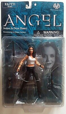 Angel: Faith (white tank top) (Action Figure) unopened sealed in box Moore A C