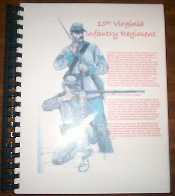 Civil War History of the 10th Virginia Infantry Regiment