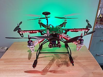 F550 APM2.8 custom Hexacopter perfect for free style and autonomous FPV flights