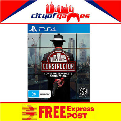 Constructor PS4 Game New & Sealed Free Express Post In Stock