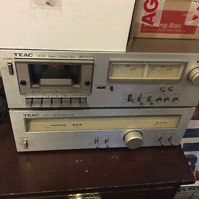 Teac Tuner And Cassette Deck