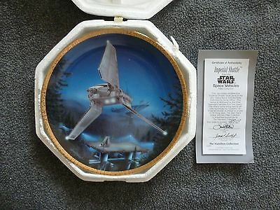 Star Wars Imperial Shuttle Collector's Plate by The Hamilton Collection
