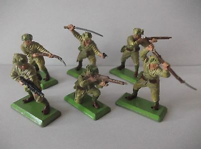 Britains Deetail Japanese Infantry  Full Set Of  6