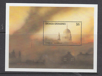 Grenada Grenadines 1990 WW II mini sheet  um-mint