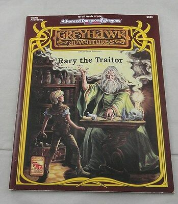 Advanced Dungeons & Dragons AD&D WGR4 Rary The Traitor Greyhawk Adventures 9386