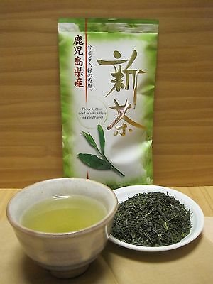 2017 The First Harvest Japanese Green Tea, Kagoshima Shincha 100g, Fresh Sencha