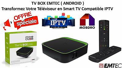 EMTEC ECLTVF400 Movie Cube F400 The TV Box Android Smart TV / Streamer / IPTV
