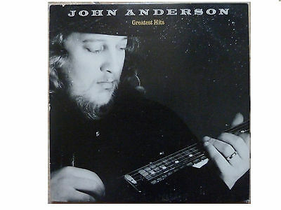 John Anderson * Greatest Hits * Us Vinyl Lp Wb 1-25169 Plays Great