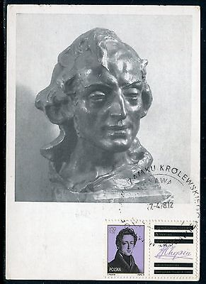 Pologne - Carte Maximum 1978 - Chopin