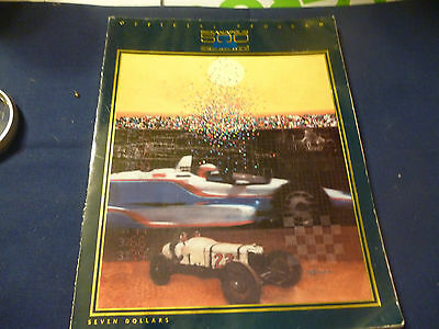 Official 1993 Indy 500 Program Indianapolis Motor Speedway 77thRunning AJ Poster