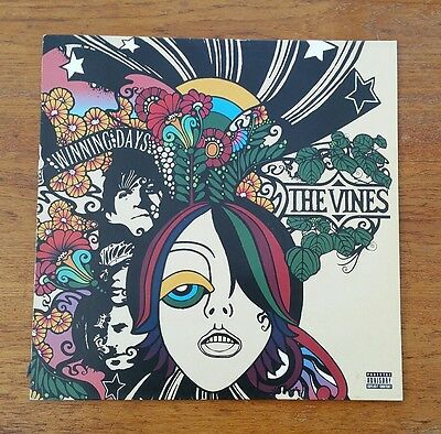 The Vines Winning Days 1st Pressing Vinyl LP 2004 Heavenly Records Nr Mint