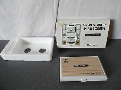Rare Vintage 1982 Jeu électronique Nintendo Game&Watch Oil Panic