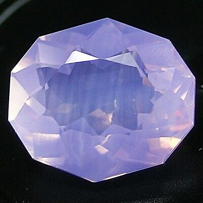UNBEHANDELT ! Rose De France Amethyst. 4,8 ct,  LASER CUT