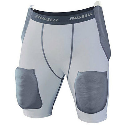 Russell 5-Pad Integrated American Football Girdle - Youth M