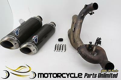 2010 ducati streetfighter s TERMIGNONI FULL EXHAUST SYSTEM HEADERS PIPE MUFFLER