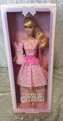 Its A Girl Barbie Collector Doll Model Muse Mm 2015 Mattel Dgw37 Mint Nrfb
