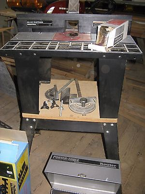 porter cable router model 1001 + sears table 171.25490 + lots more!!!!!!