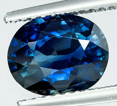 GIA CERTIFIED 2.19 cts. Unheated Natural Blue Sapphire From Madagascar. VDO