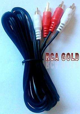 CABLE AUDIO ALTA CALIDAD 2 RCA-2 RCA 1m. RC-1