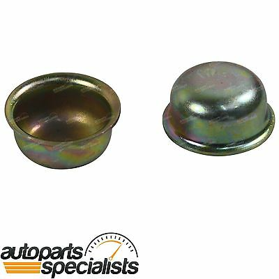 2x Front Axle Hub Grease Caps fit various Landcruiser 40 60 70 80 100 Series 4x4