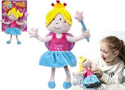 30cm GIRLS NOVELTY TOOTH FAIRY SOFT PLUSH DOLL with POCKET  GIFT