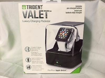 Trident  - Odyssey Valet Portable Charging Pedestal for Apple Watch  38mm & 42mm