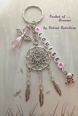 Personalised Baby Girl Gift - Christening /Birth / Dreamcatcher /Guardian Angel