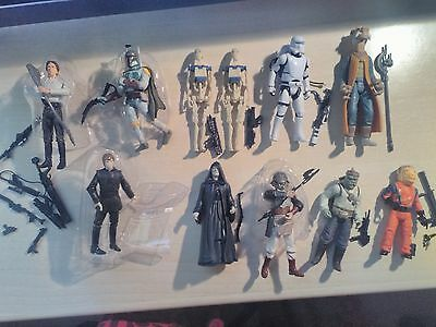 Lote de figuras Star Wars - Lot of figures Star Wars
