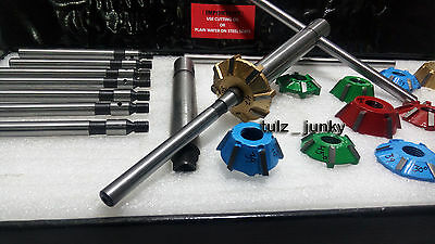Vw Bug  3 Angle Cut Carbide Tipped Valve Seat Cutter Kit 1200,1300,1600 Cc