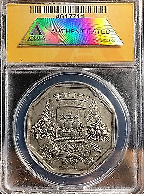 France 1815 Silver Jeton From Paris A Thing Of Beauty ANACS AU
