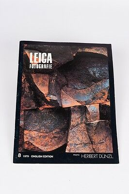 Leica Fotografie  nº 8 1979  English Edition