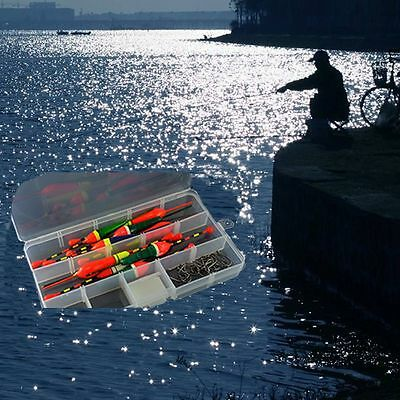 10Pcs/lot Portable Durable Light Stick Bobber Slip Drift Tube Fishing Float