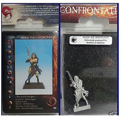 Ainoa the Unforgiven - Confrontation - Rare OOP -Brookhurst Hobbies Exclusive !