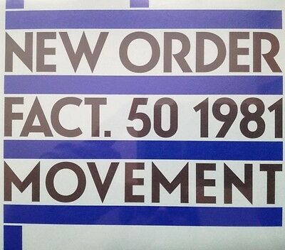 New Order - Movement - Uk Clear Lp - Limited Edition - Mint/sealed