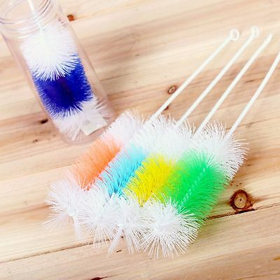 30CM Color Random Bottle Brush Nylon Wire Pipe Tube Cleaner Cleaning Tool