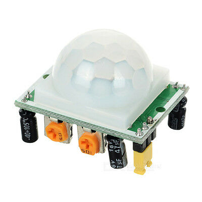 NEW Pyroelectric IR Infrared Motion Detection Sensor Module DC 5V~20V Green
