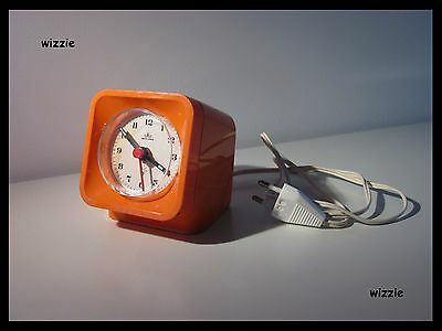 MEISTER ANKER : Electric Desk Clock / Vintage / Retro / 1970's