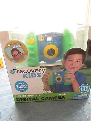 Lot of 2 Discovery Kids USB Compatible Digital Cameras 1 Boy and 1 Girl NIB